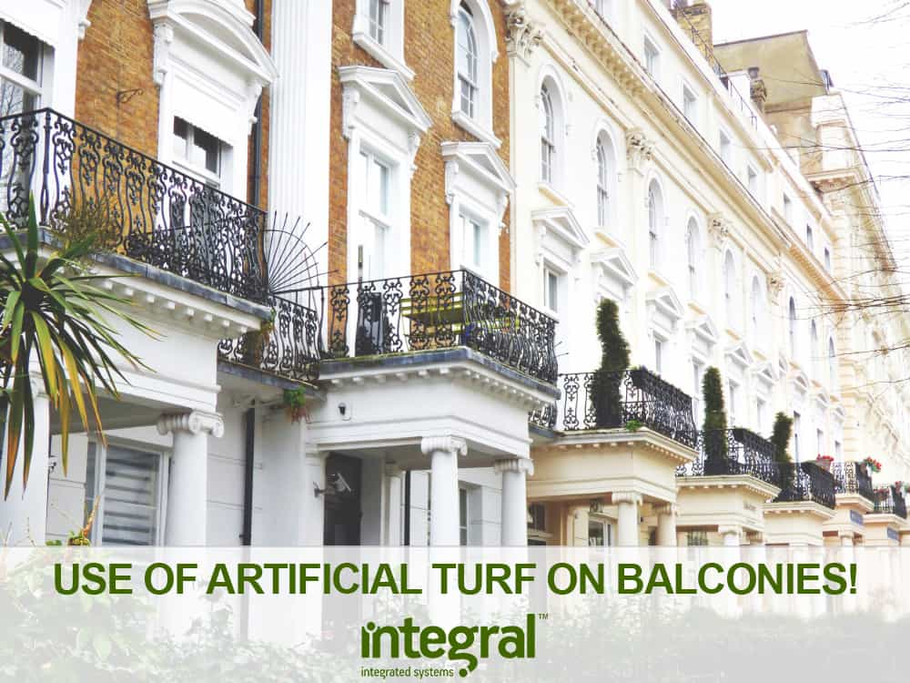 Use Of Artificial Turf On Balconies